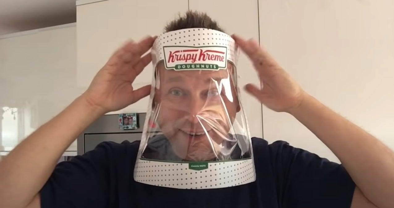 krispy kreme facemask