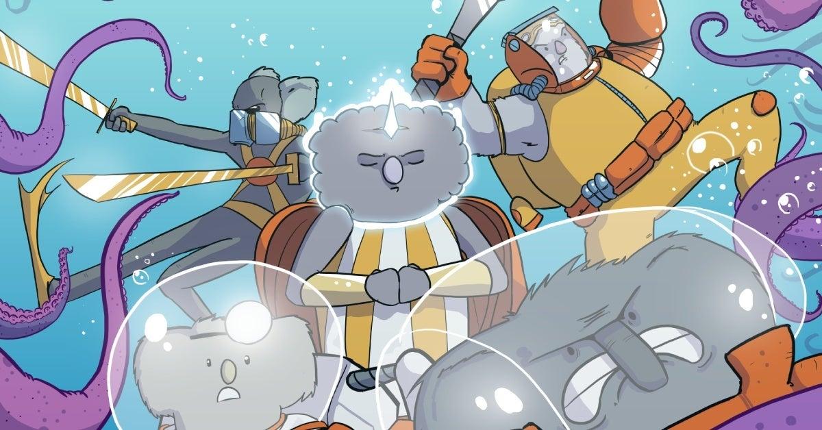 kute crew webtoon cover