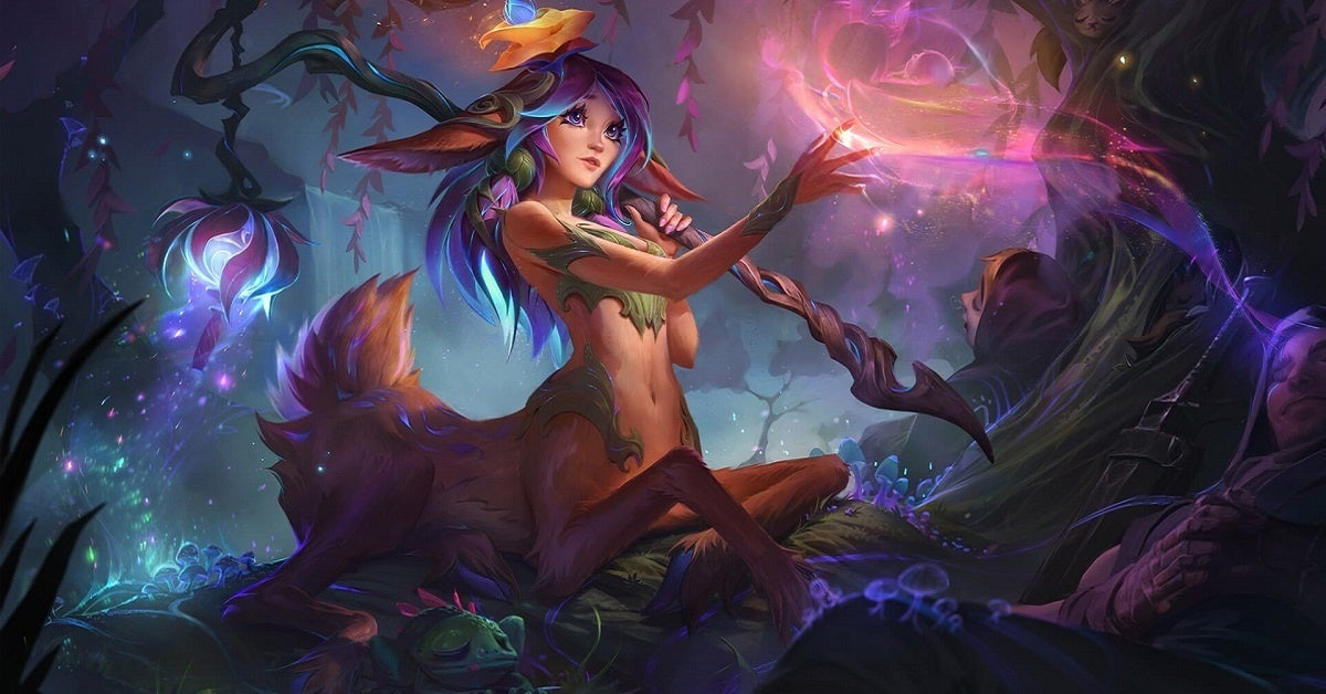 League of Legends Lillia