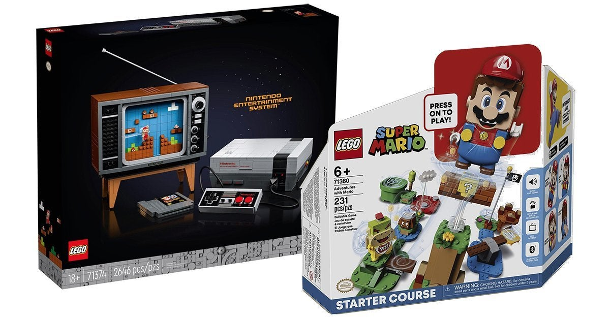 The Nintendo Entertainment System Lego Set Is Back In Stock