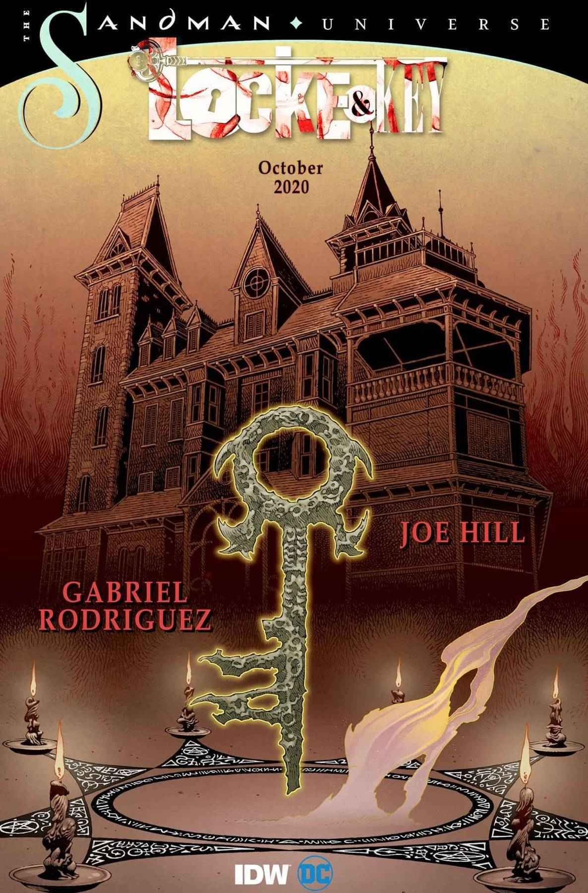 Locke and Key Sandman Hell and Gone 0 Cover