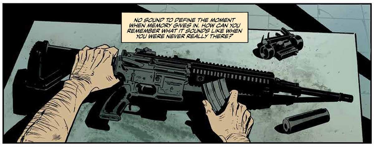 Lost Soldiers #1 Review - Assault Rifle