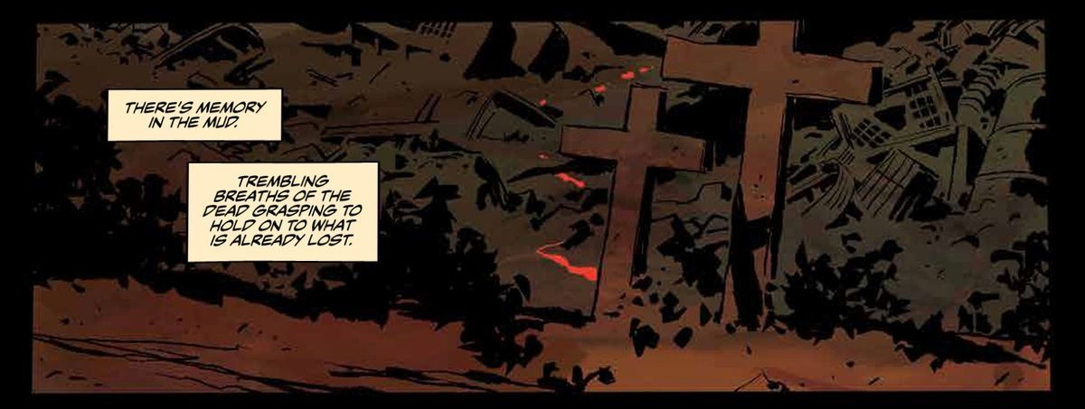Lost Soldiers #1 Review - Mud