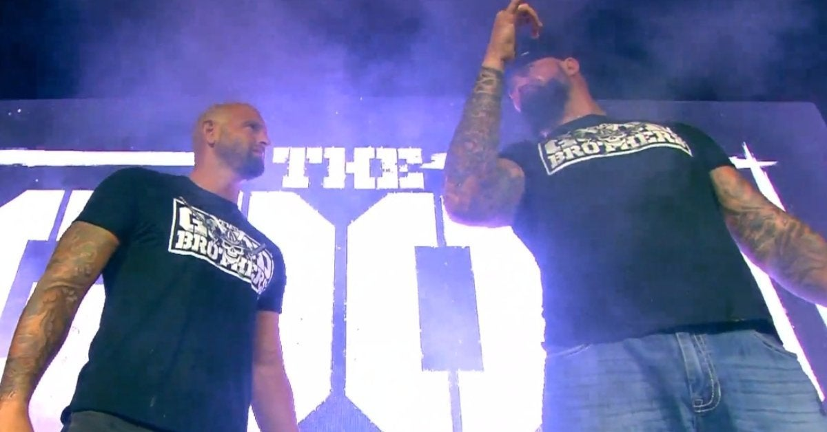Luke Gallows Karl Anderson Good Brothers Impact Wrestling Slammiversary