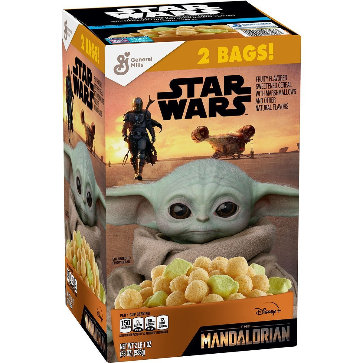 Here's Where to Get Baby Yoda Star Wars: The Mandalorian Cereal First