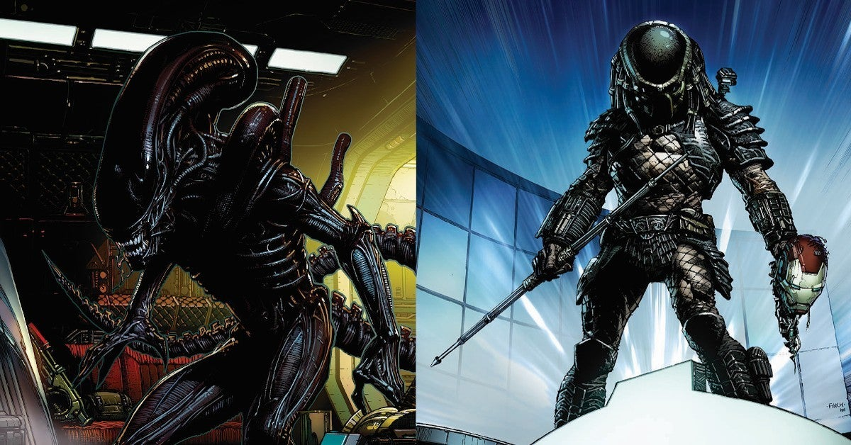 Marvel Acquires ALien Predator Comics Franchise
