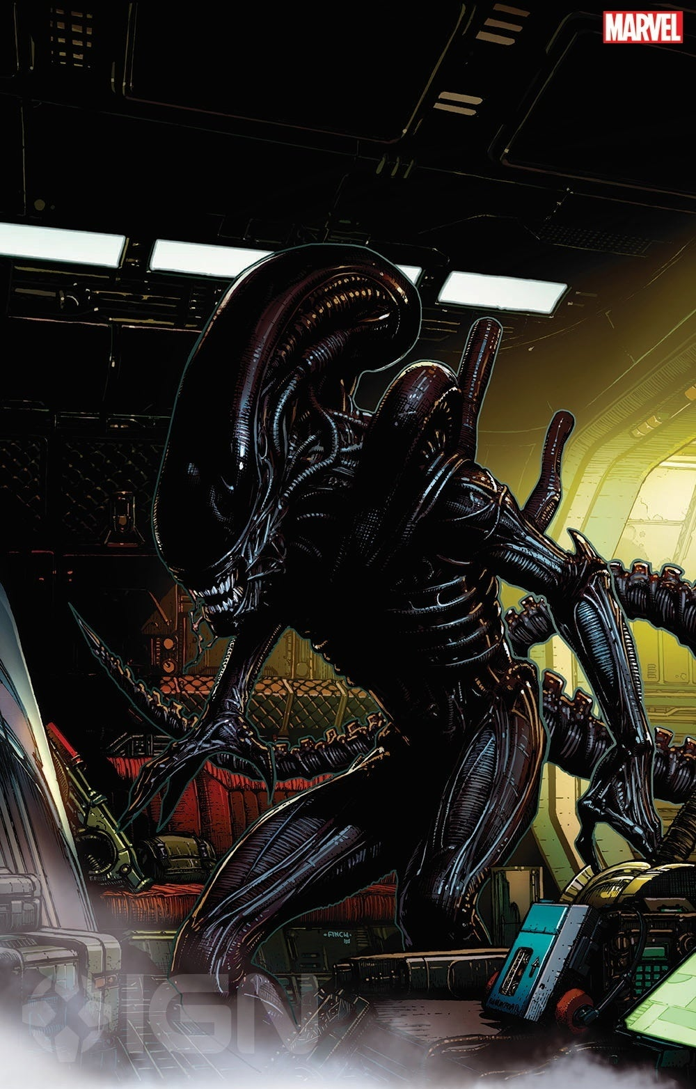 Marvel Alien Cover by David Fincher