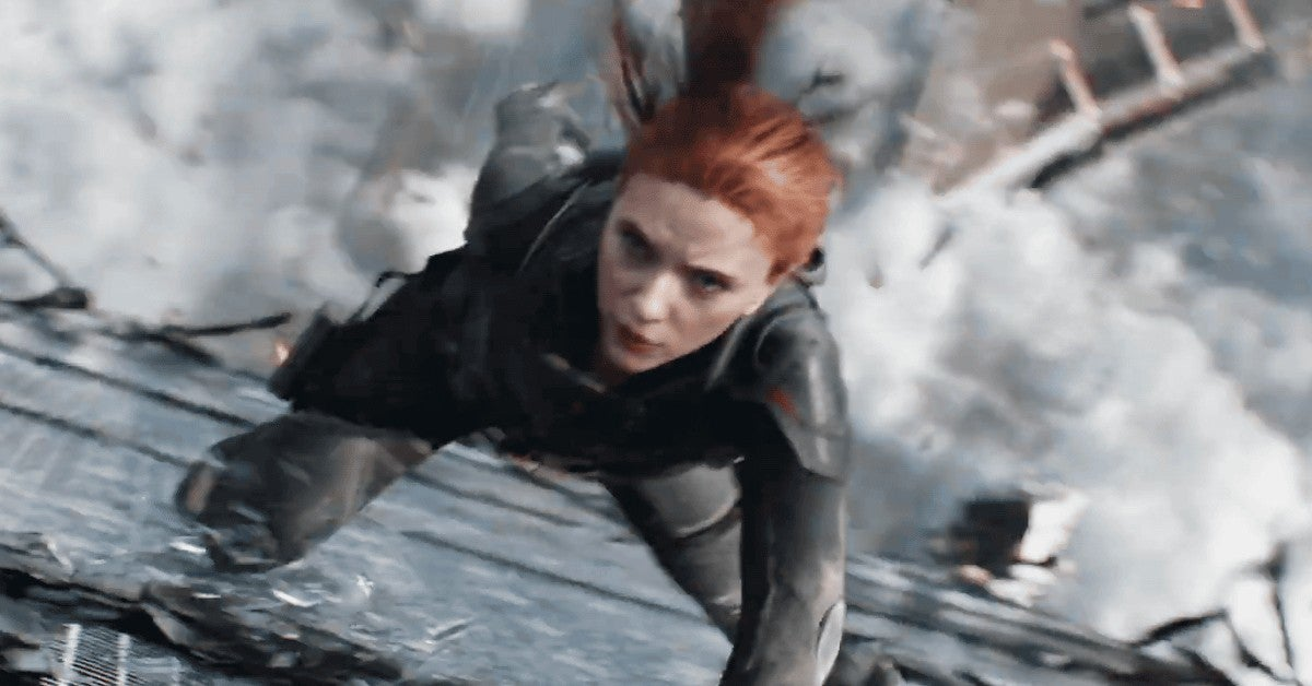 Marvel Black Widow IMAX Footage 30 Minutes Expanded Ratio