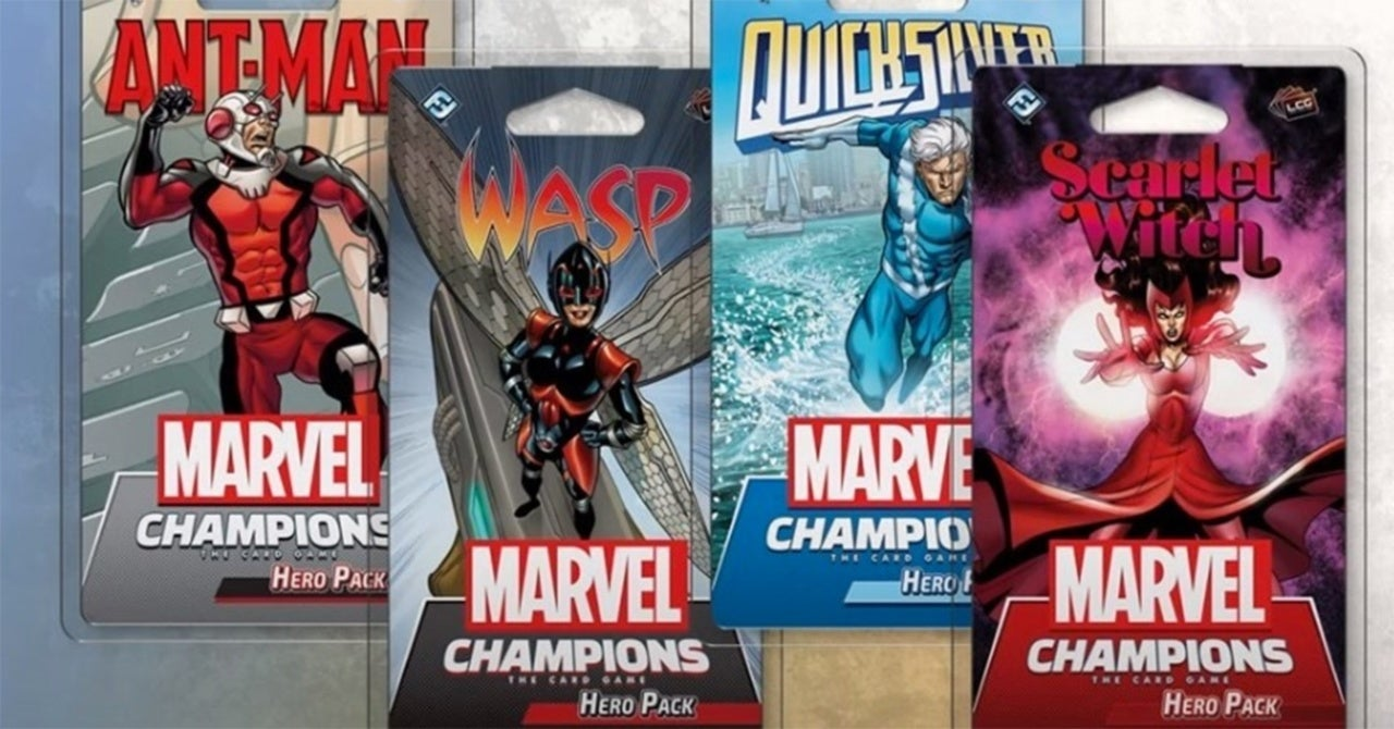 Marvel Champions Announces Upcoming Expansions, Including a Rocket and Groot Campaign Box