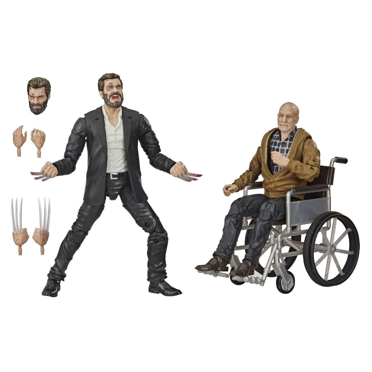 Marvel Legends Series 6-Inch X-Men Marvel s Logan & Charles Xavier Figure 2-Pack - oop (1)