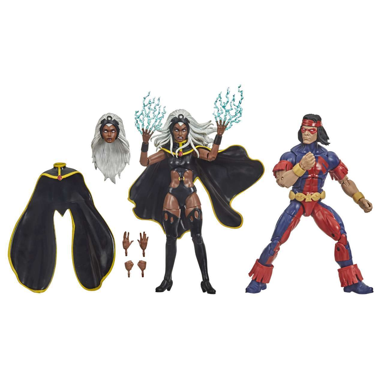 MARVEL LEGENDS SERIES X-MEN 6-INCH STORM AND MARVEL S THUNDERBIRD Figure 2-Pack - oop (9)