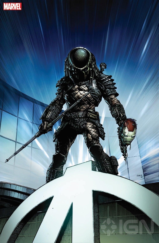 Marvel Predator Cover by David Fincher