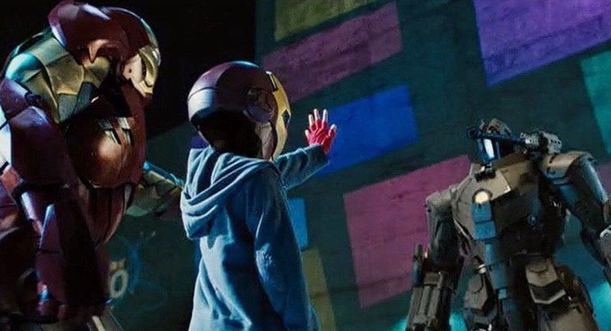 Marvel Robertn Downey Jr Sends  Bridger Walker Iron Man Promise