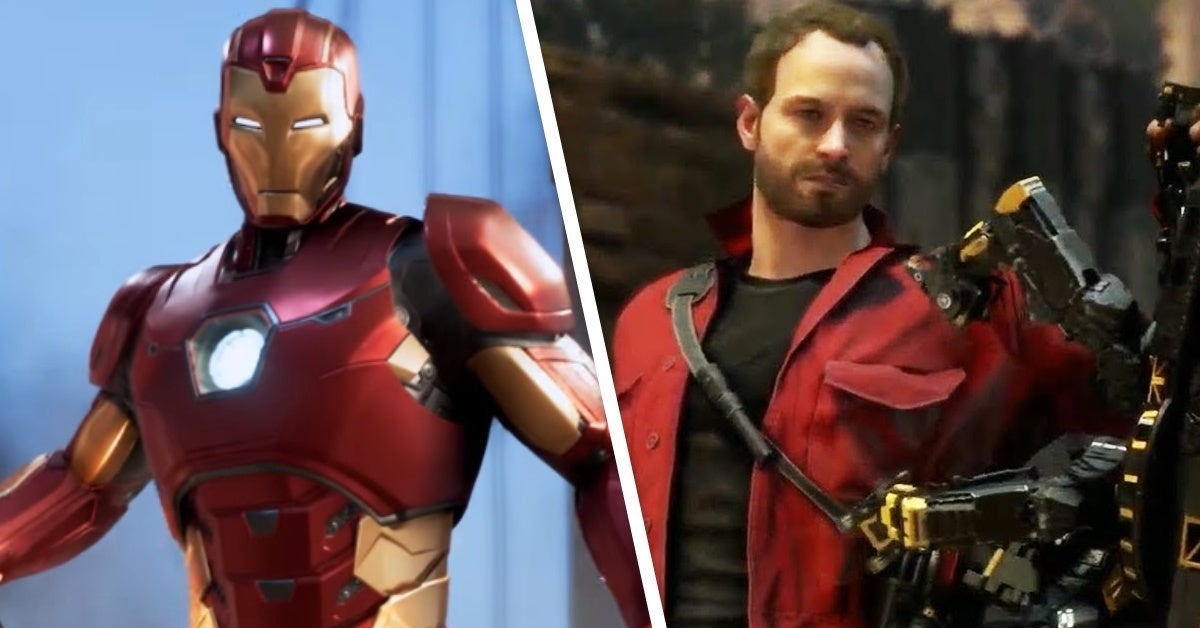 marvel's avengers iron man ant man