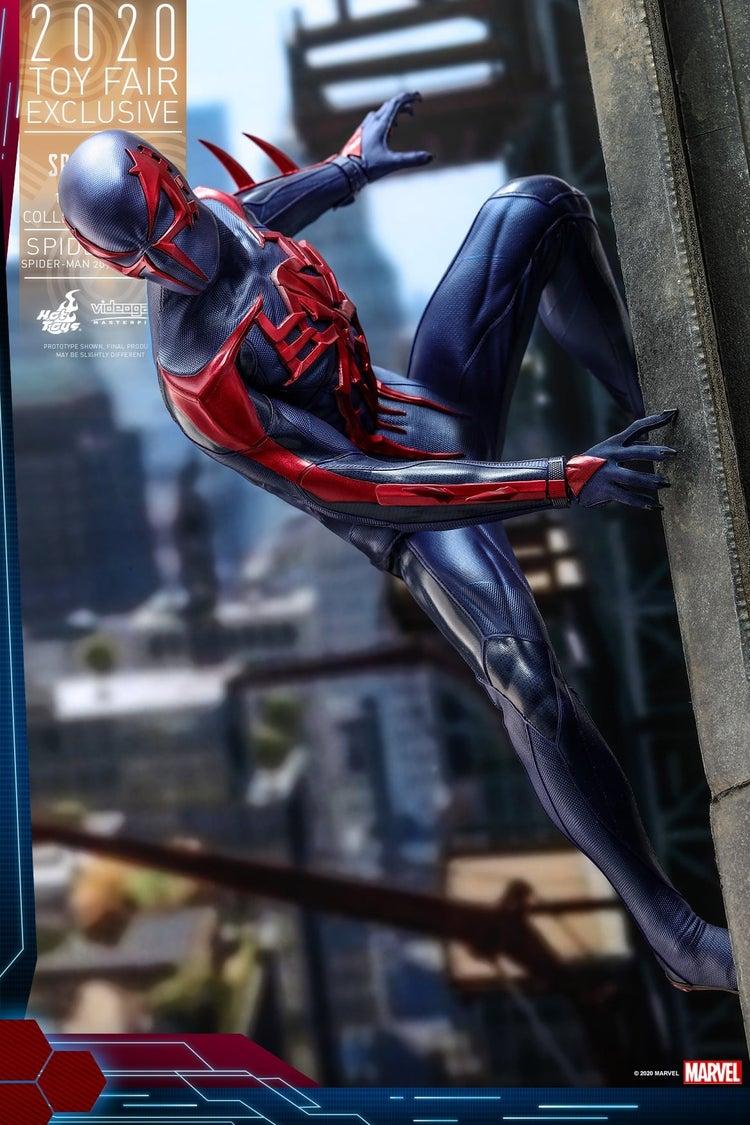 Marvel's Spider-Man 2099 Suit Gets an Epic Hot Toys Figure