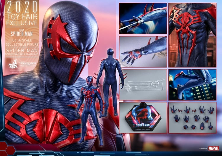marvel's spider man 2099 hot toys 20