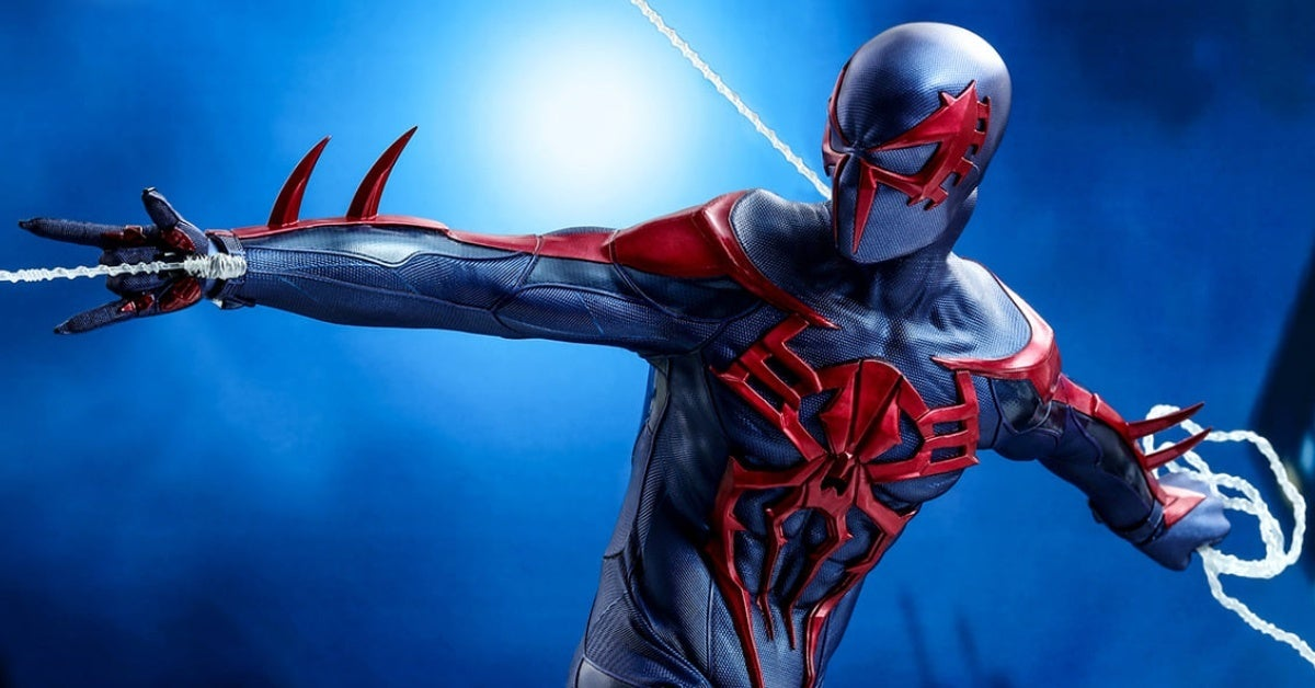 marvel's spider man 2099 hot toys header