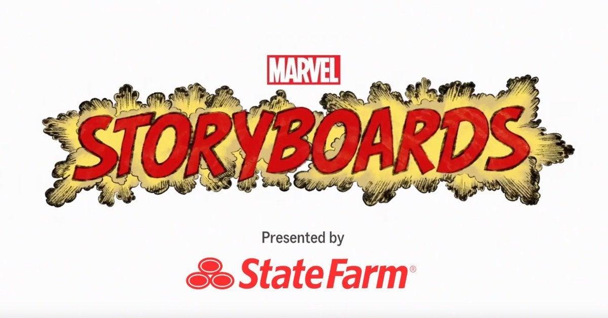 Marvel Storyboards
