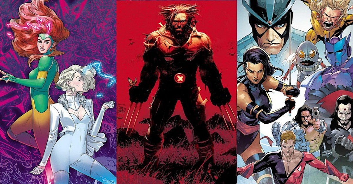 Marvel X-Men Dawn X Comics Cancelled New Series