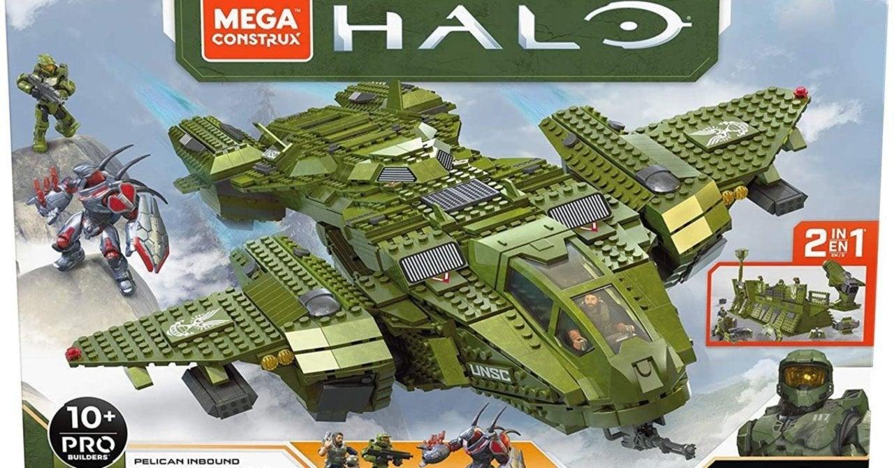 Custom Halo Mega Bloks Pelican