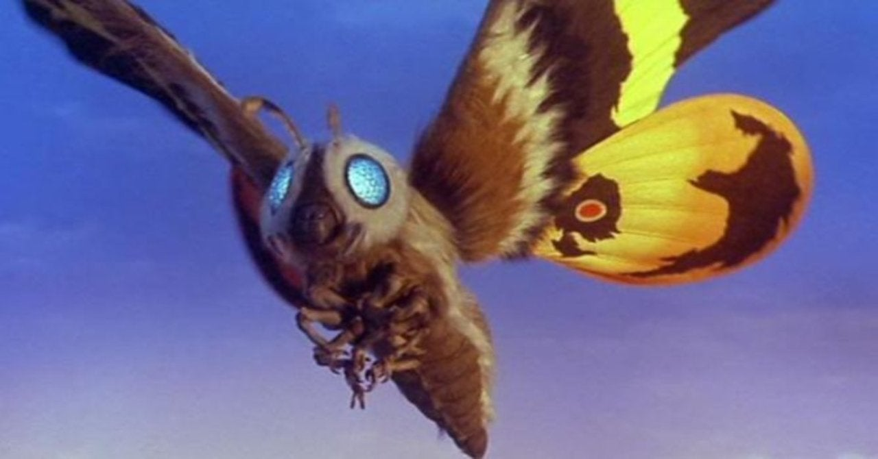 Surprising Godzilla Cosplay Puts Fun Spin on Mothra