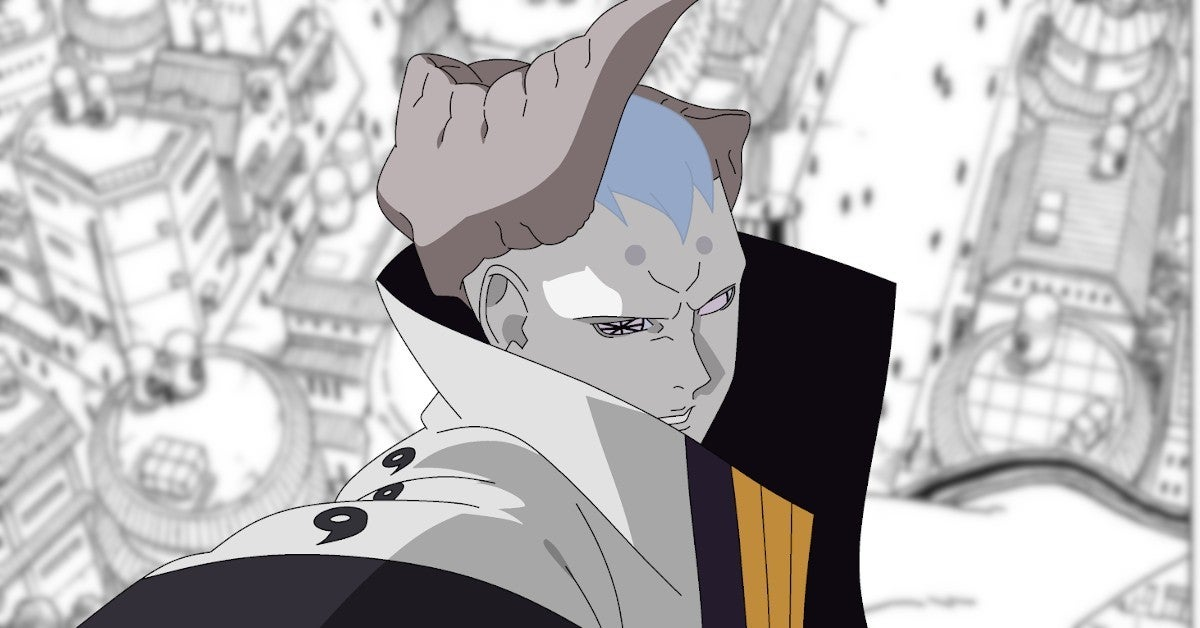 Naruto Boruto Manga Isshiki Otsutsuki Attacks Hidden Leaf Vilage