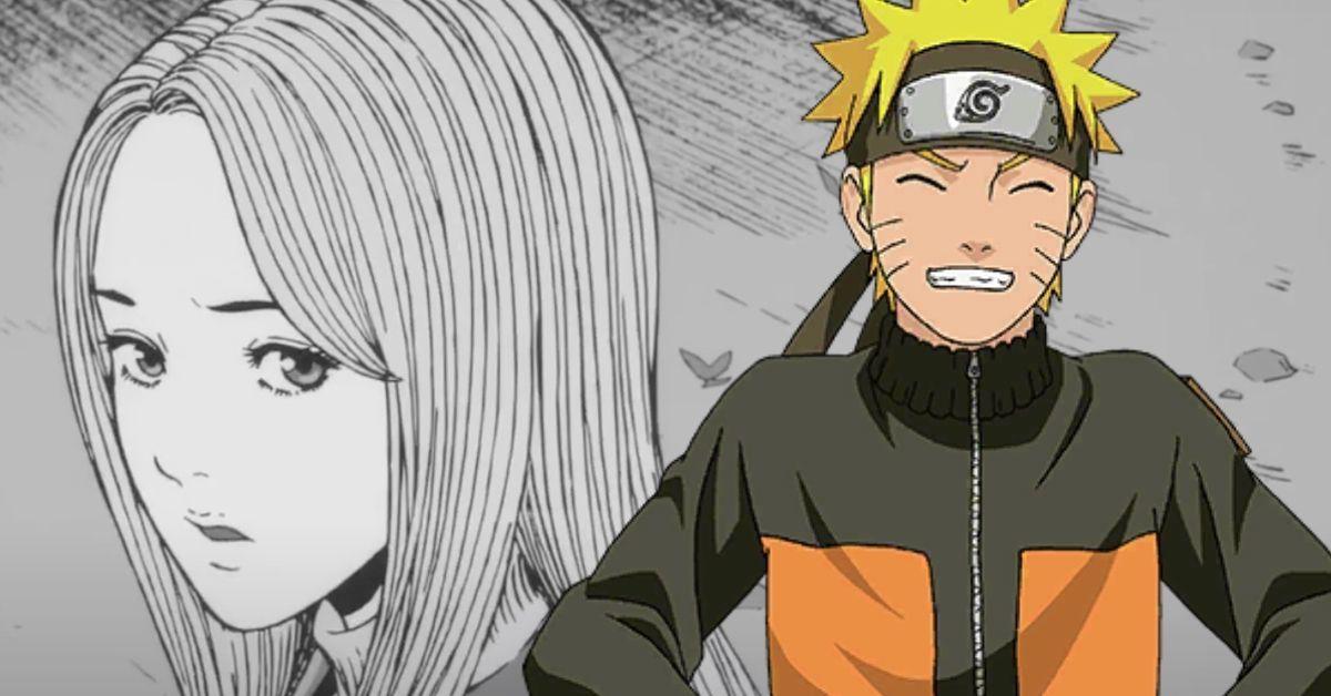Naruto Uzumaki Junji Ito Crossover Anime