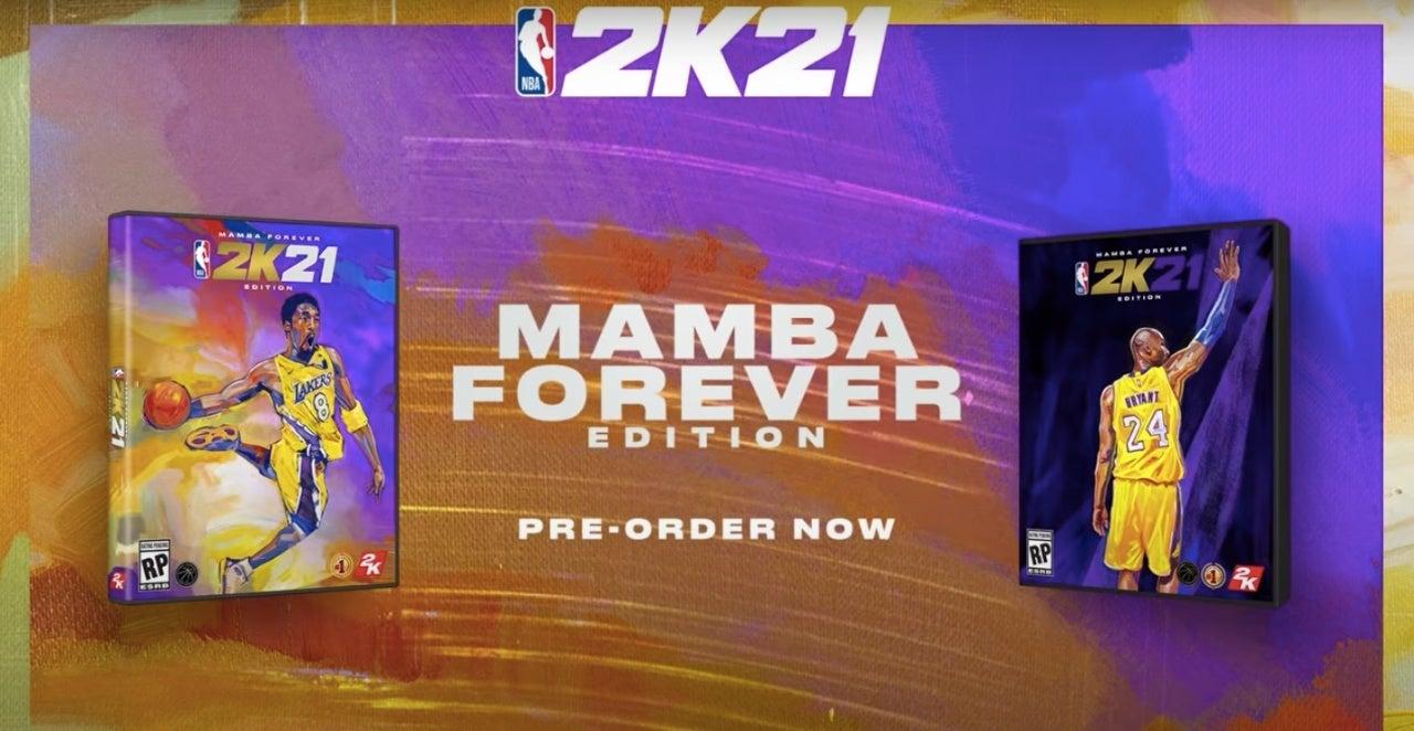nba 2k21 kobe mambe forever covers