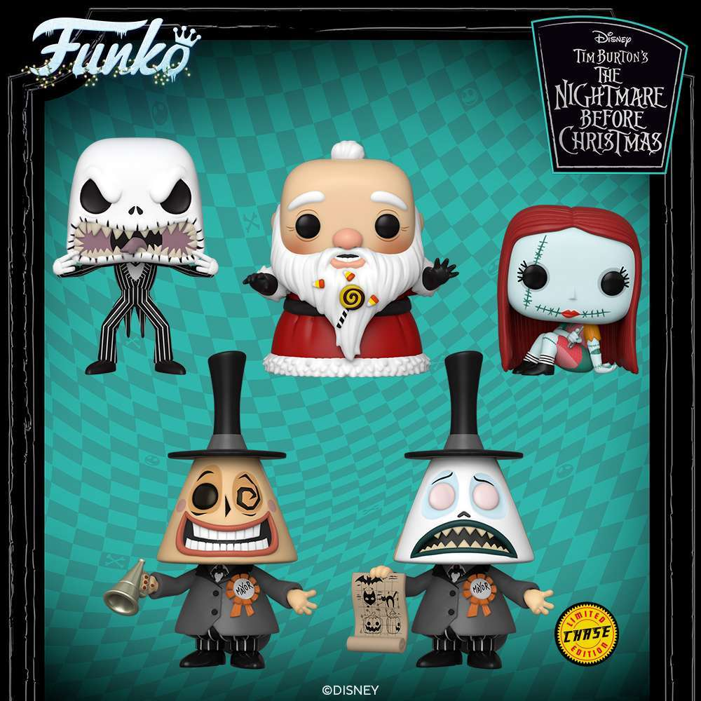 Nightmare Before Christmas Funko Pop 2020 Entertainment New The Nightmare Before Christmas Funko Pops Launch for the Wrap