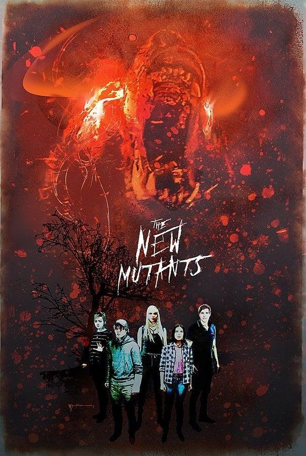 new mutants demon bear art