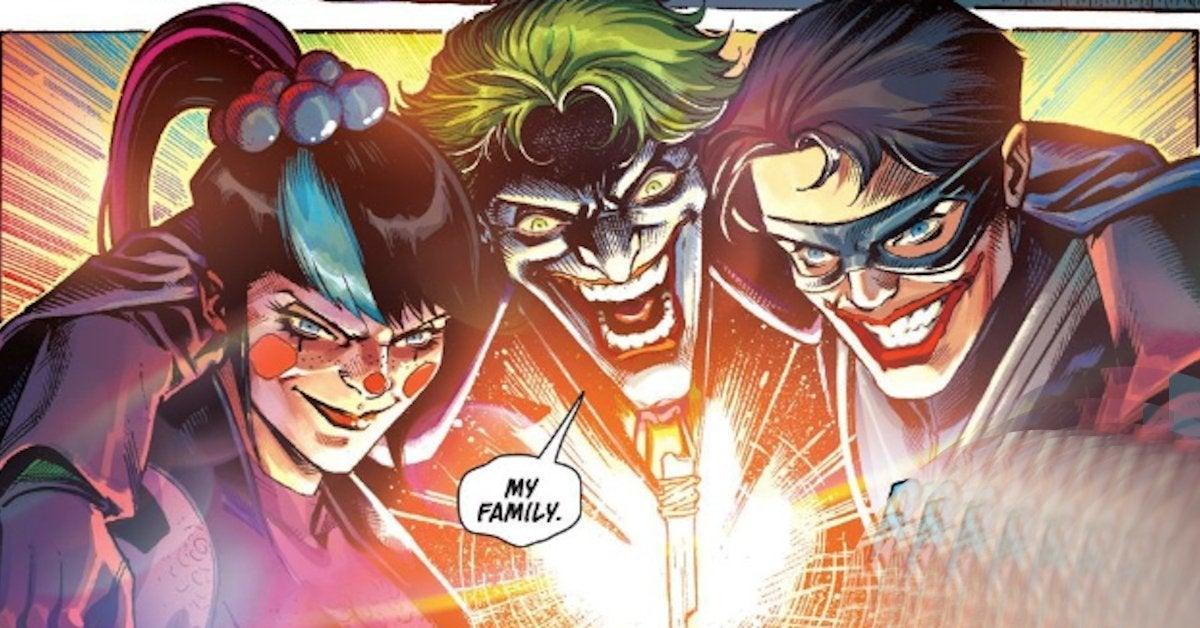 Nightwing Joins Joker Family Batman Joker War