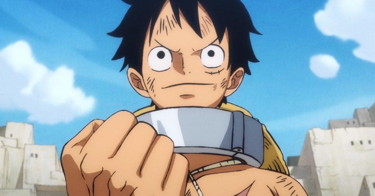 One Piece Luffy Haki Training Wano