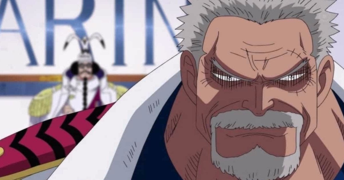 One Piece Monkey D Garp