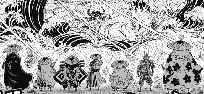 One Piece Nine Red Scabbards