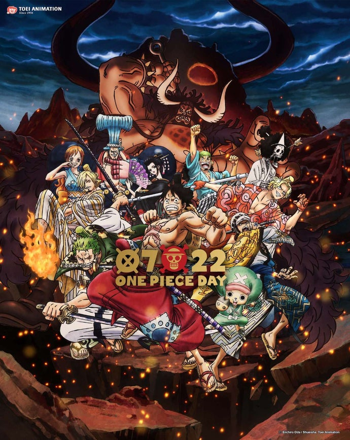 One Piece Wano Key Art 23rd Birthday