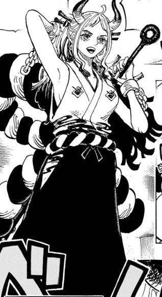One Piece Yamato Face Revealed Manga