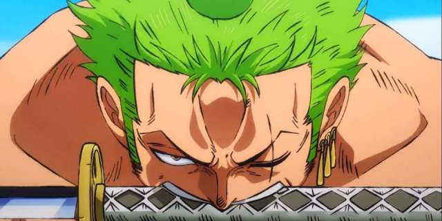 One Piece Zoro Animation