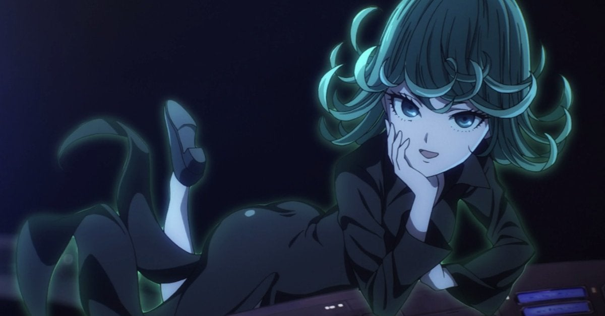 One-Punch Man Tatsumaki Terrible Tornado