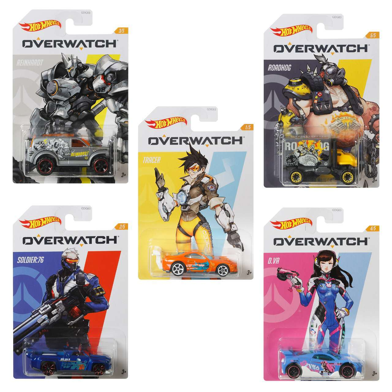 Overwatch Hot Wheels 10-Pack Assortment