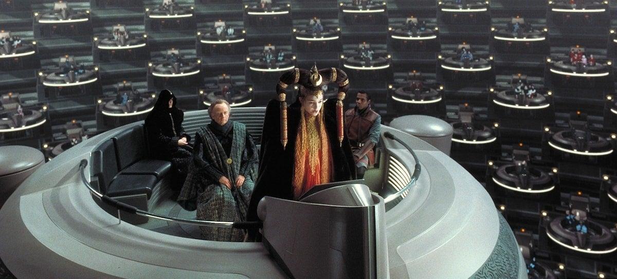 padme amidala galactic senate