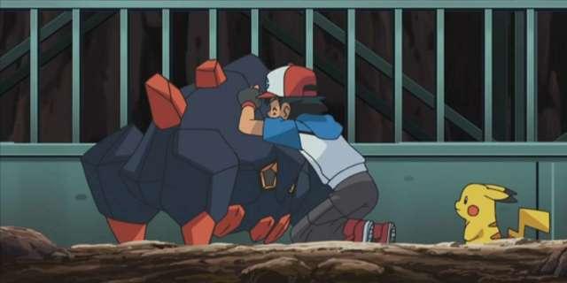 Pokemon Journeys Ash Ketchum Catch