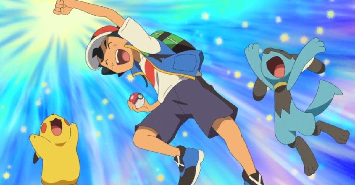 Pokemon Journeys Ash Ketchum New Catch