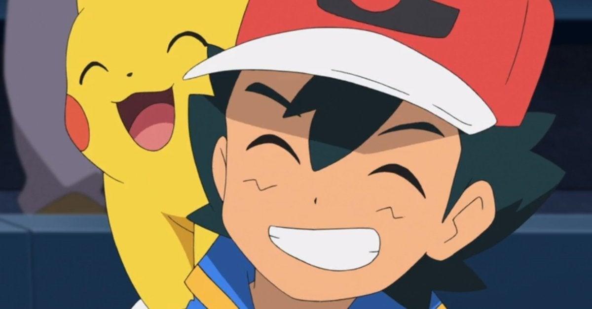 Pokemon Journeys Ash Pikachu Anime