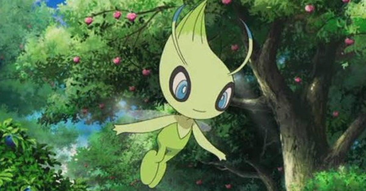 pokemon journeys celebi
