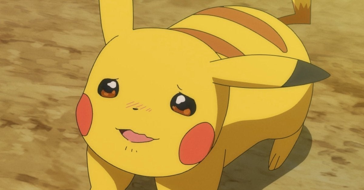 Pokemon Journeys Pikachu Anime