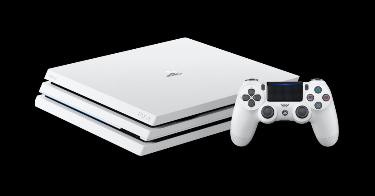 ps4 playstation 4 white pro
