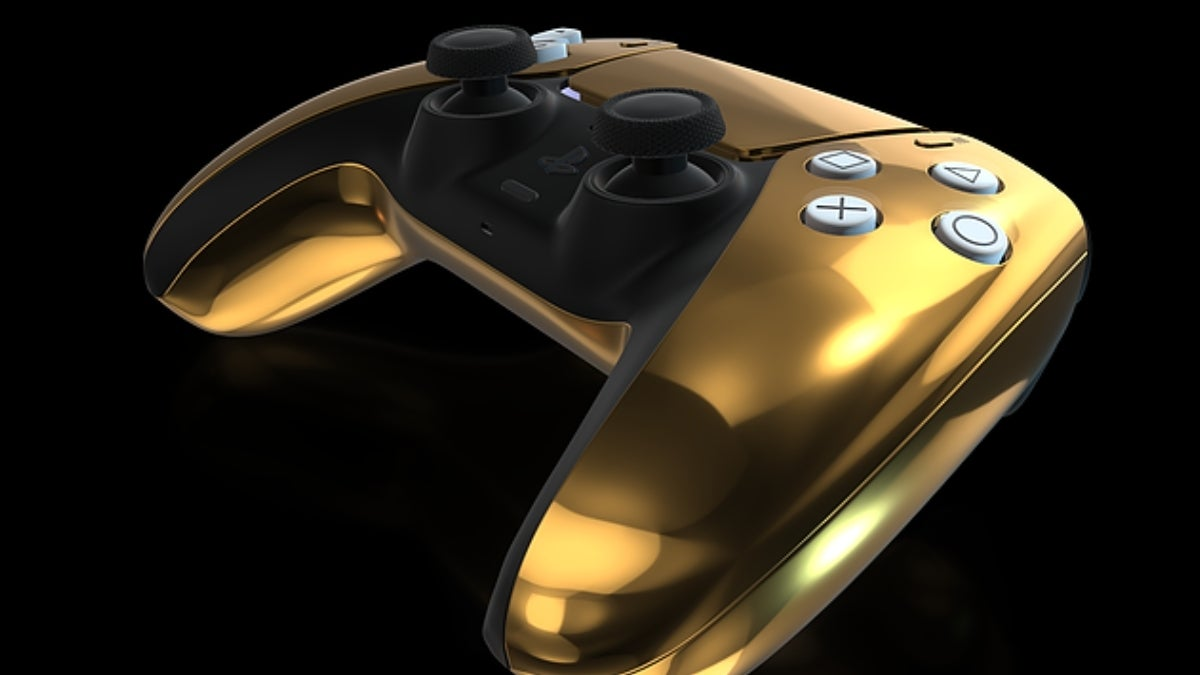ps5 controller gold