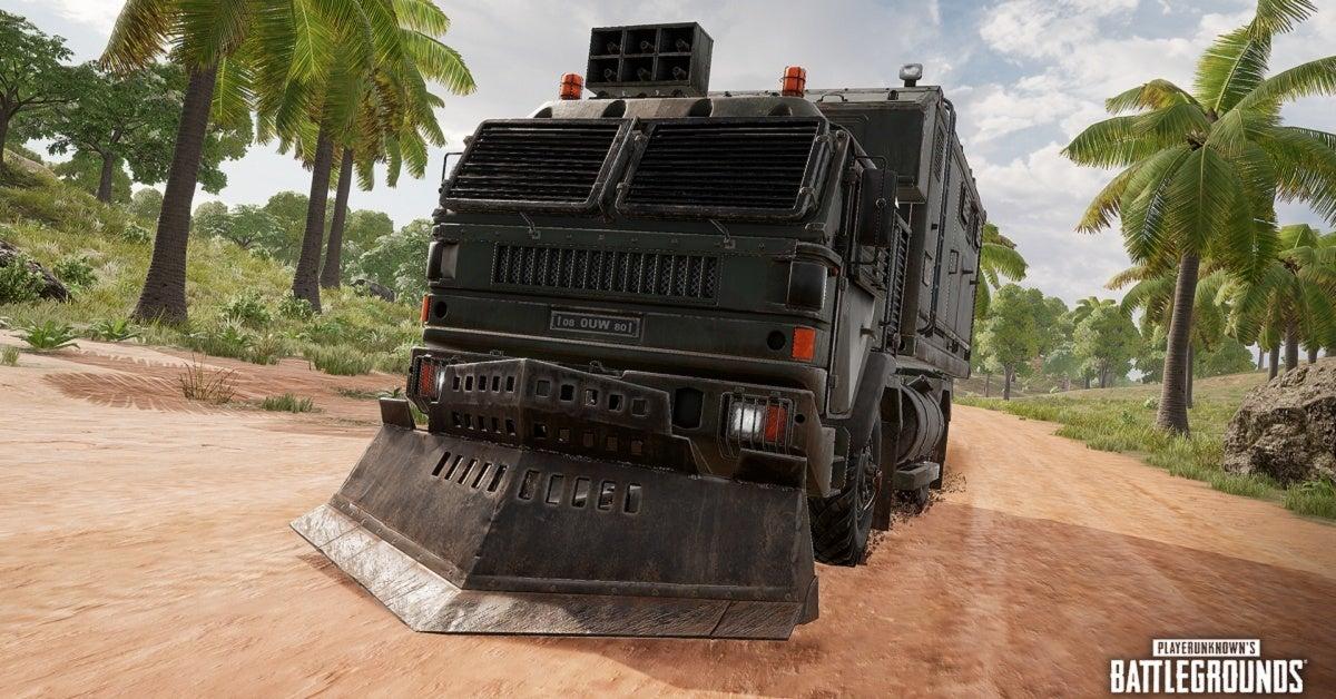 PUBG Loot Truck