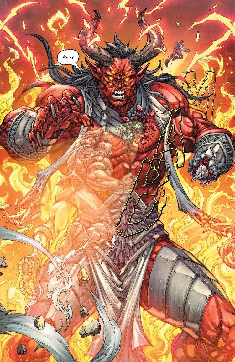 red hood outlaw trigon death 1