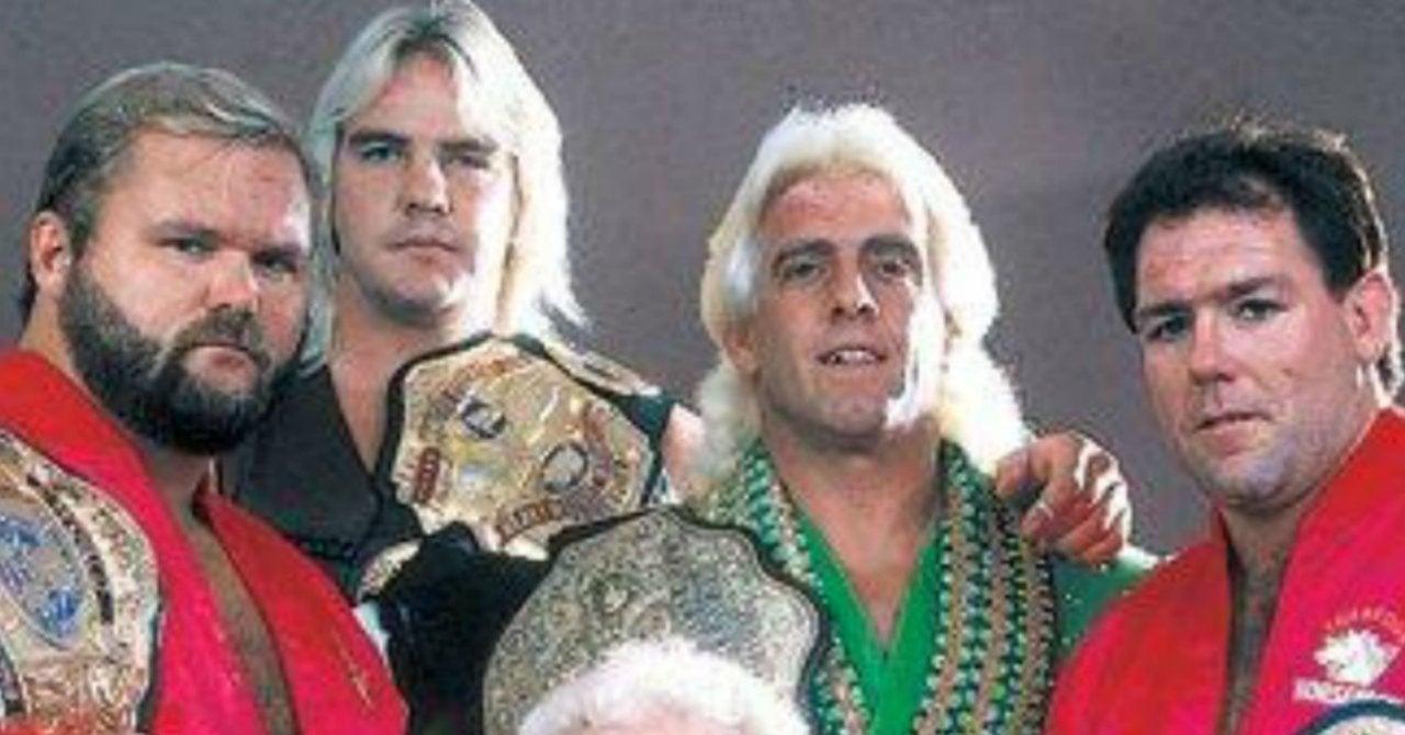 Ric Flair Endorses AEW Reviving the Four Horsemen
